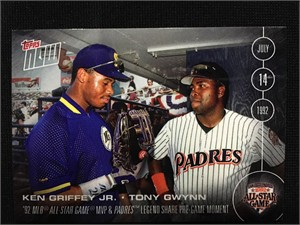 Ken Griffey Jr. & Tony Gwynn 2016 Topps Now All-Star Game FanFest exclusive card AS-1