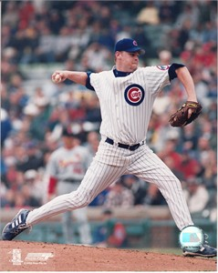 Kerry Wood Chicago Cubs 8x10 action photo