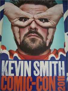 Kevin Smith 2011 Comic-Con exclusive poster MINT