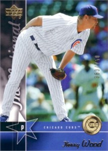 Kerry Wood 2005 Upper Deck National Convention promo card #/750