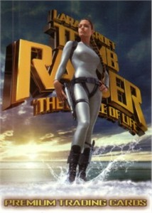Lara Croft Tomb Raider The Cradle of Life 2003 Comic-Con promo card TR2-SD2003