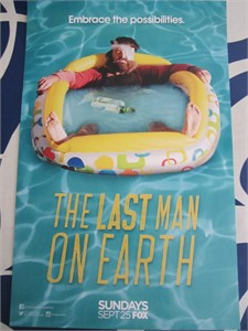 Last Man on Earth 2016 Comic-Con 11x17 mini promo poster