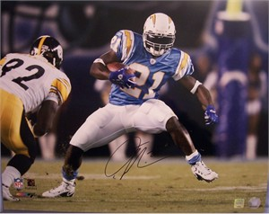 LaDainian Tomlinson autographed San Diego Chargers 16x20 poster size photo