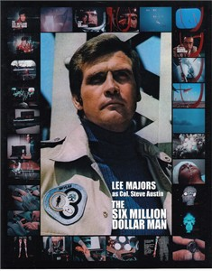 Lee Majors Six Million Dollar Man 8x10 photo