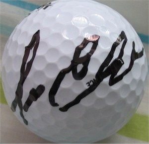 Lee Elder autographed golf ball
