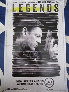Legends 2014 Comic-Con mini promo poster (Sean Bean)