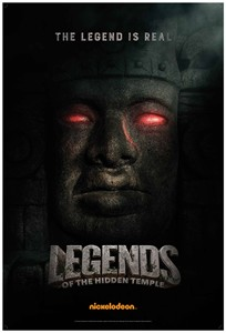 Legends of the Hidden Temple 2016 Comic-Con Nickelodeon 11x17 poster