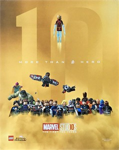 LEGO Marvel Super Heroes 2018 San Diego Comic-Con 16x20 inch movie poster