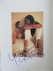 Lenny Kravitz autographed 11x14 Rolling Stone book photo