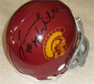 Leonard Williams autographed USC Trojans mini helmet