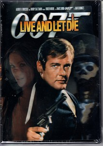 Live and Let Die James Bond 007 DVD Digitally Restored with RARE lenticular cover NEW & SEALED
