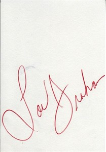 Lou Graham autograph or cut signature