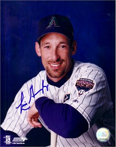 Luis Gonzalez autographed Arizona Diamondbacks 8x10 portrait photo