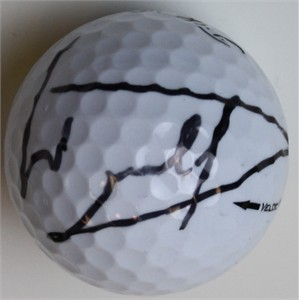 Luke Donald autographed golf ball