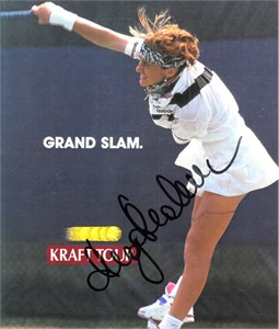 Magdalena Maleeva autographed tennis magazine 7x9 photo