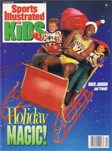 Magic Johnson Los Angeles Lakers 1989 Sports Illustrated for Kids magazine