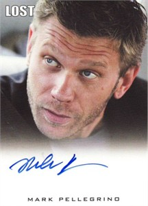 Mark Pellegrino (Jacob) LOST certified autograph card