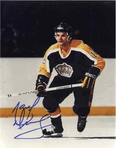 Marcel Dionne autographed 8x10 Los Angeles Kings photo
