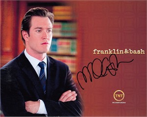 Mark-Paul Gosselaar autographed Franklin & Bash 8x10 photo