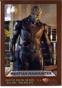 Martian Manhunter 2016 Comic-Con Supergirl promo card