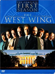 Martin Sheen autographed The West Wing Sixth Season DVD set
