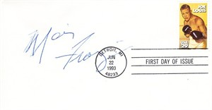 Marvis Frazier autographed 1993 boxing Joe Louis First Day Cover