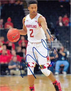 Melo Trimble autographed Maryland Terrapins 8x10 photo