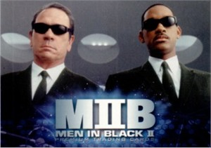 Men in Black II 2002 Comic-Con Inkworks promo card P-SD