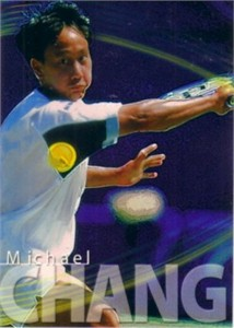 Michael Chang 2000 ATP Tour card RARE
