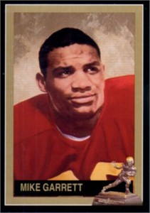 Mike Garrett USC Trojans 1965 Heisman Trophy winner card