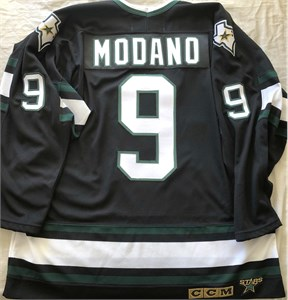 Mike Modano Dallas Stars black authentic Reebok double stitched jersey NEW WITH TAGS