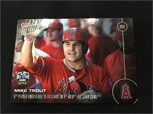 Mike Trout 2016 Topps Now All-Star Game FanFest exclusive card AS-2