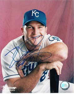 Mike Sweeney autographed Kansas City Royals 8x10 portrait photo