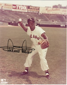 Minnie Minoso autographed Chicago White Sox 8x10 photo