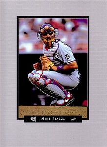 Mike Piazza Los Angeles Dodgers 1995 SuperSlam photo card