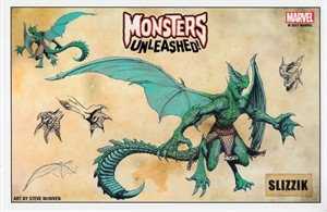 Monsters Unleashed 2017 Comic-Con Marvel art print