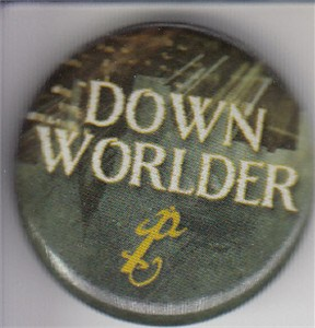 Mortal Instruments Downworlder 2014 Comic-Con button or pin