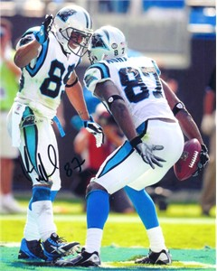 Muhsin Muhammad autographed 8x10 Carolina Panthers photo