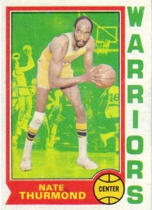 Nate Thurmond 1974-75 Topps basketball card