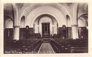 National Presbyterian Church (Washington DC) vintage postcard