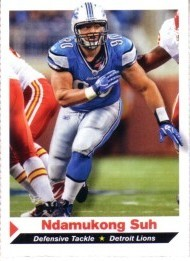 Ndamukong Suh Detroit Lions 2011 Sports Illustrated For Kids card