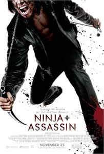 Ninja Assassin movie mini promo poster (starring Rain)