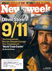 Nicolas Cage World Trade Center 2006 Newsweek magazine