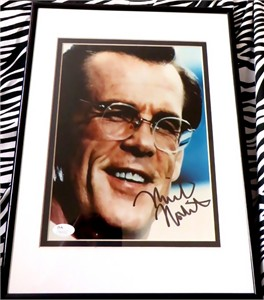Nick Nolte autographed 8x10 portrait photo matted & framed (JSA)