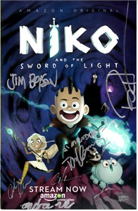 Niko and the Sword of Light cast autographed 2017 Comic-Con comic book (Tom Kenny)