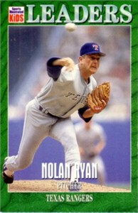 Nolan Ryan 1997 Sports Illustrated for Kids card