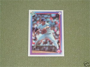 Nolan Ryan Texas Rangers 1992 High 5 promo or prototype decal card