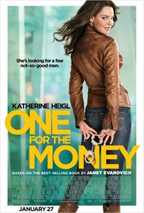 One For The Money mini movie poster (Katherine Heigl)
