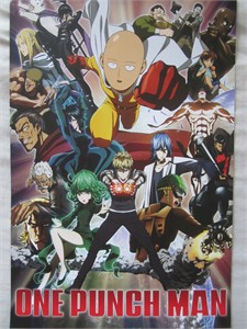 One Punch Man 2017 Comic-Con exclusive 11x17 mini anime promo poster