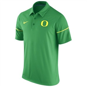 Oregon Ducks Nike Dri-Fit green polo size 2XL shirt BRAND NEW WITH TAGS